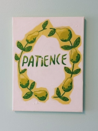 Patience. Acrylic. 9x12