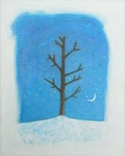 Winter. Acrylic. 11x14