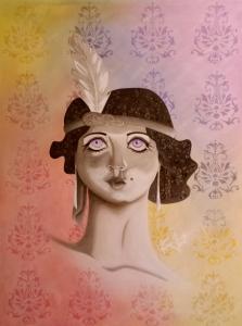 Jasmine. Acrylic. 36x48