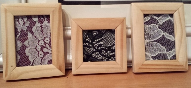 Framed Lace. 2x2 & 2x3
