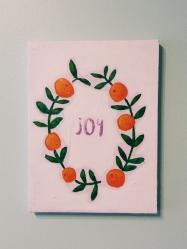 Joy. Acrylic. 9x12