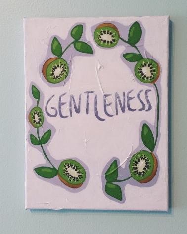 Gentleness. Acrylic. 9x12