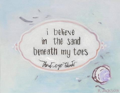 Semi-Charmed Life Lyric. 11x14