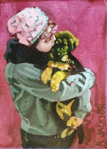 Puppy Love. 5x7